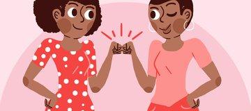 خمسة أشياء يمكنكِ التغلب عليها بمساعدة أصدقائكِ