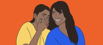 القصة المضحكة لتانيا ودورتها الشهرية